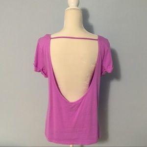 PINK Victoria's Secret Backless T-Shirt